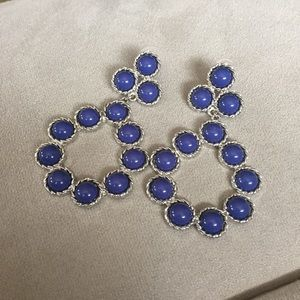 Jewelry - New Fashion Statement navy earring